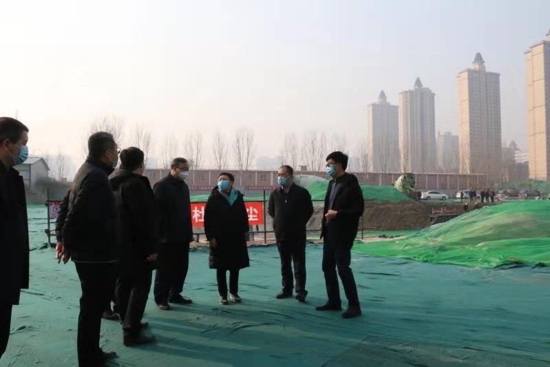 周立新同志走访慰问民生工程和环