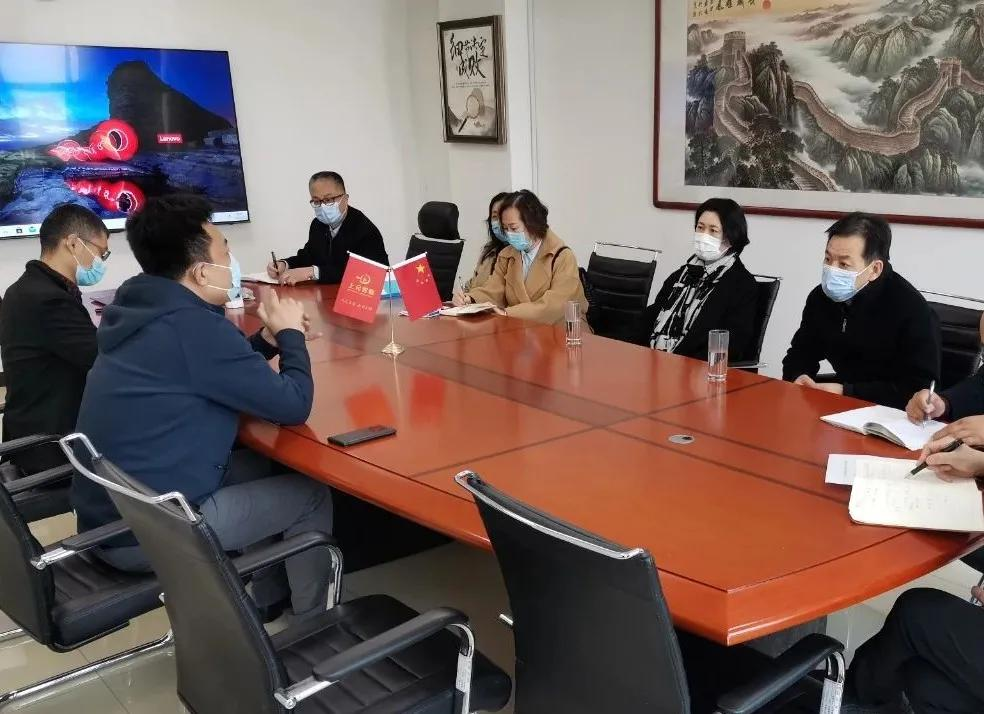 区领导王旭霞走访科技创业园区包
