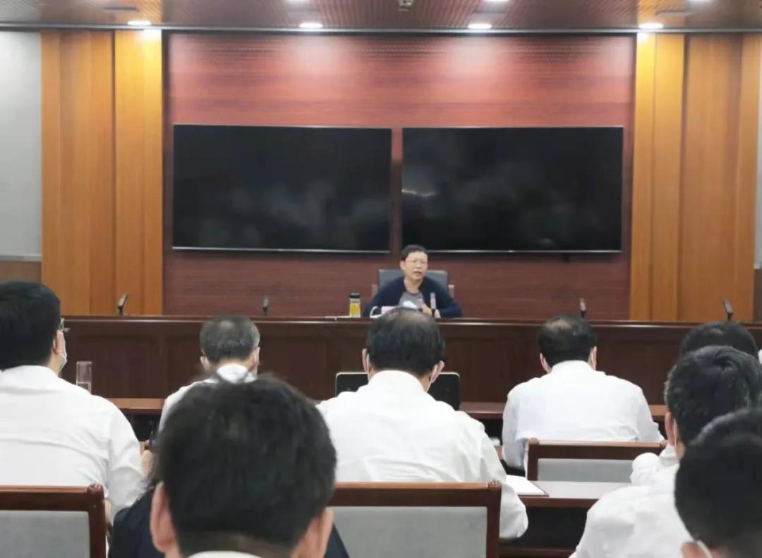 高新区召开党史学习教育推进会暨安全生产疫情防控等重